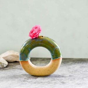 Keramik Ringvase